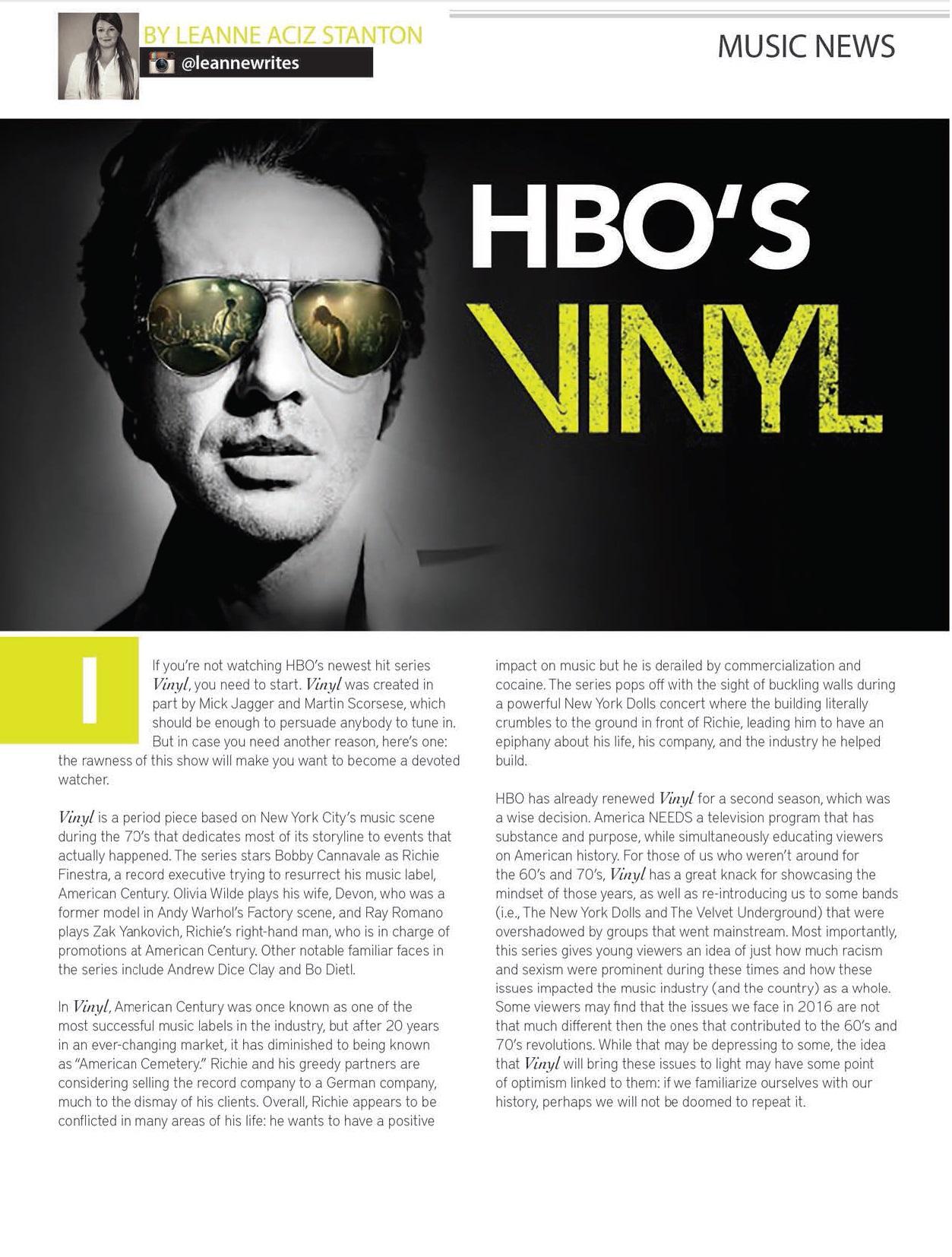 HBOs Vinyl