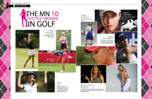hottes women in golf