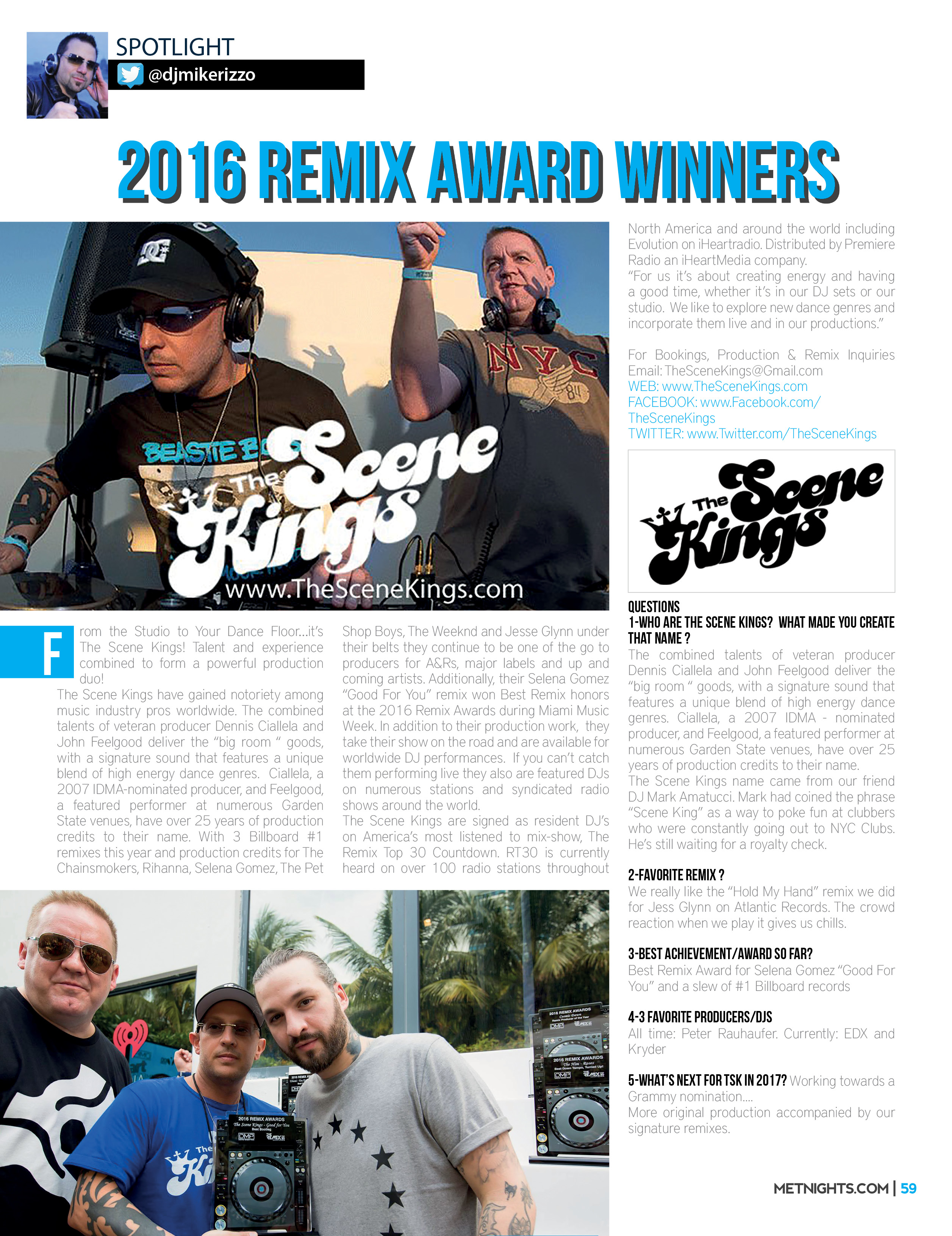 2016 Remix Award winners