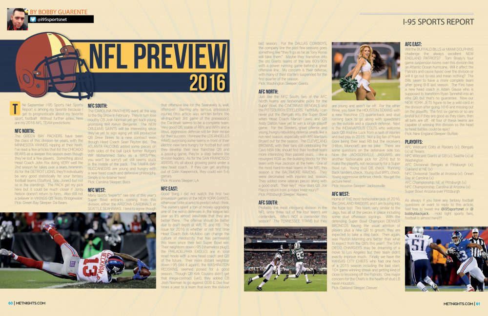 September Sports Report