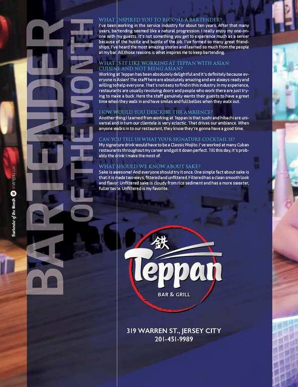 Teppan's Natasha Ortiz