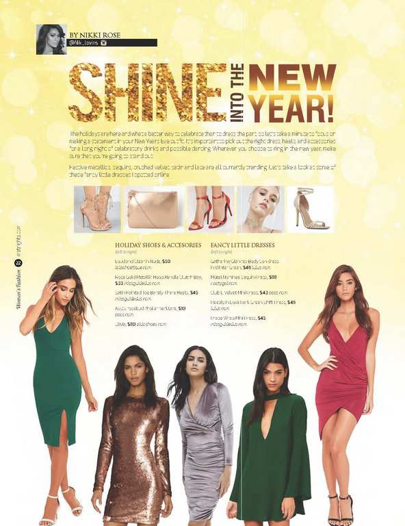 Shine Into The New Year