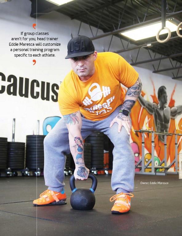 CrossFit Seacaucus –Eddie Maresca