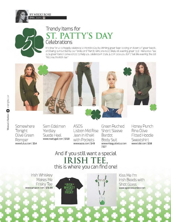 5 Trendy Items for St. Patty's Day Celebrations