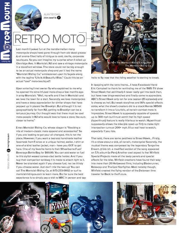 Retro Moto!