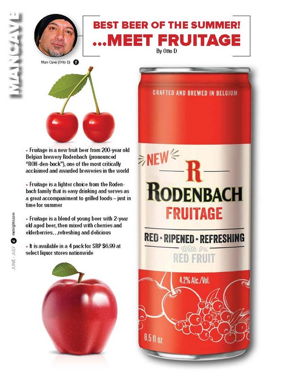 BEST BEER OF THE SUMMER! …MEET FRUITAGE