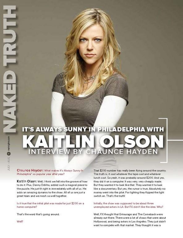 It's Always Sunny in Philadelphia WITH Kaitlin Olson