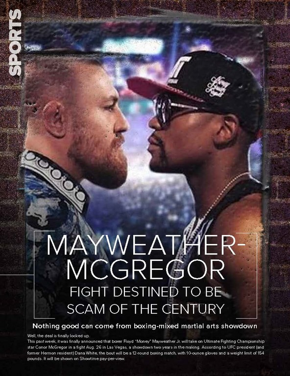 Mayweather – McGregor fight desti ned to be sca m of the century