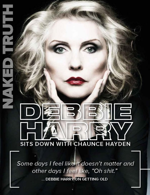 DEBBIE HARRY sits down with Chaunce Hayden