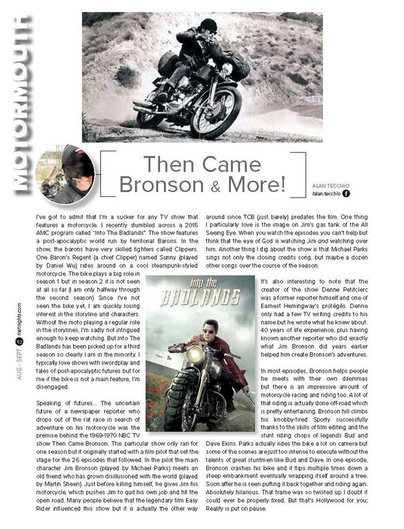 Then Came Bronson & More!
