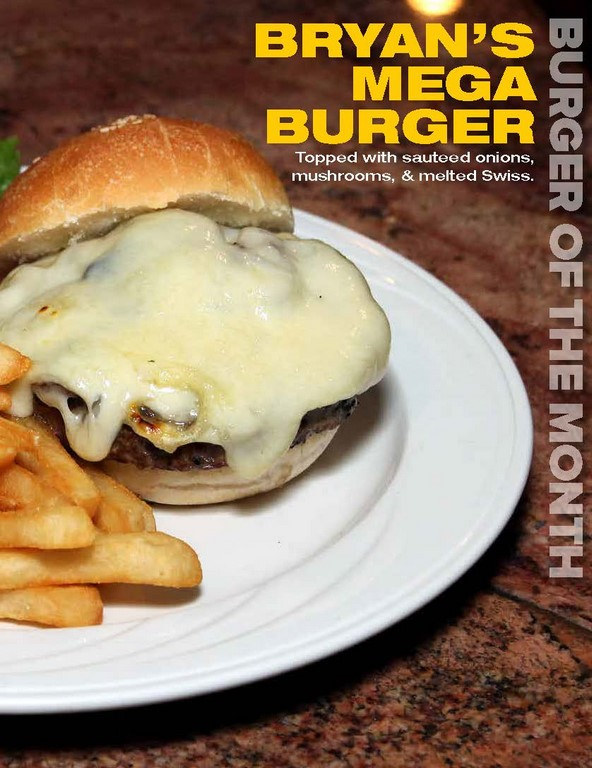 Bryan's Mega Burger