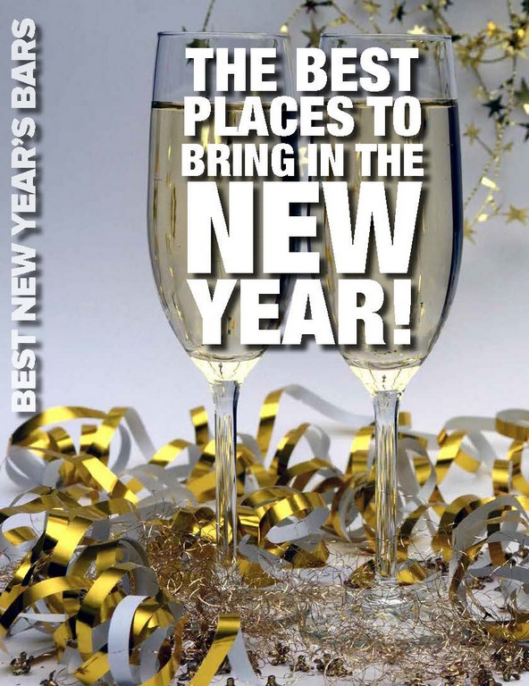 THE BEST PLACES TO BRING IN THE NEW YEAR!