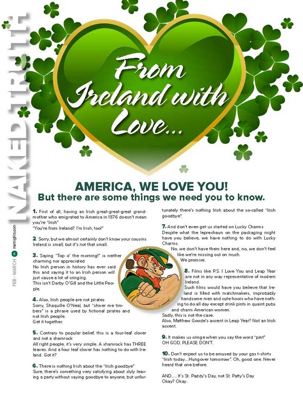 From Ireland with Love…