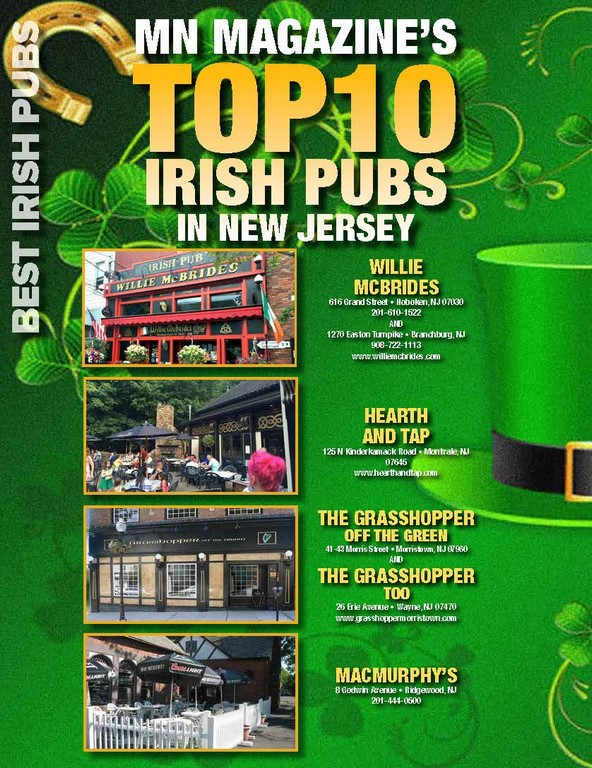 Top 10 Iris Pubs in New Jersey