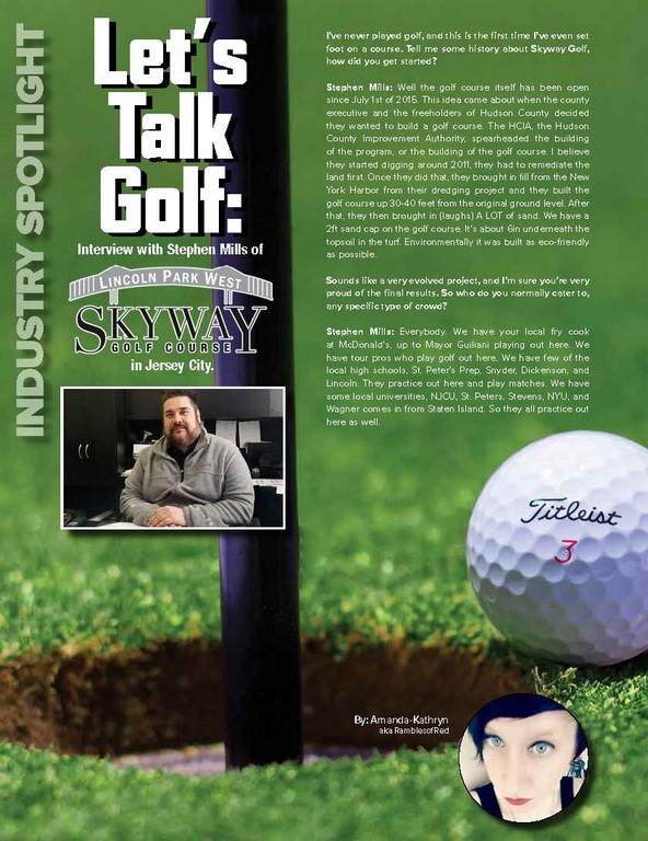 Let's Talk Golf:Interview with Stephen Mills