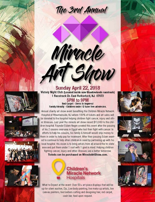 The 3rd Miracle Art Show