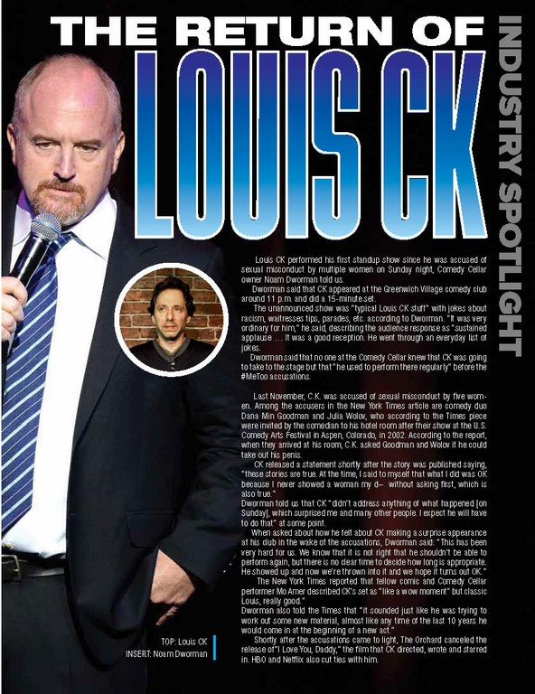 The Return of Louis CK
