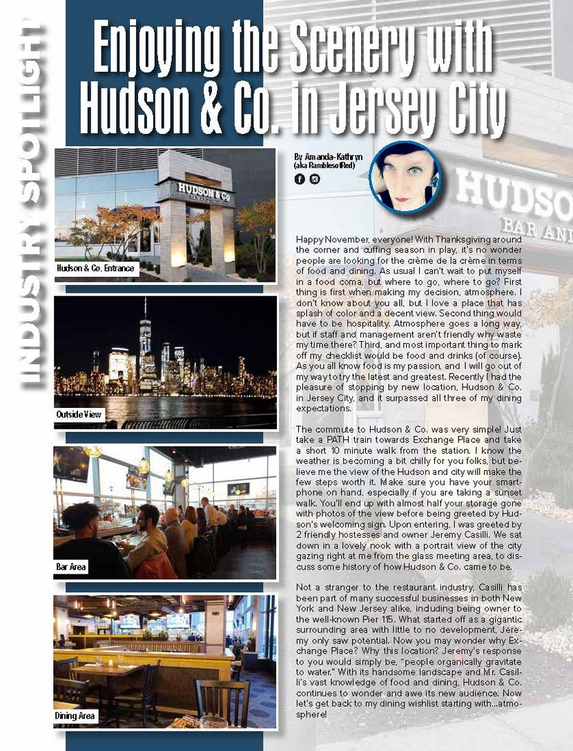 Enjoying the Scenery with Hudson & Co. in Jersey City