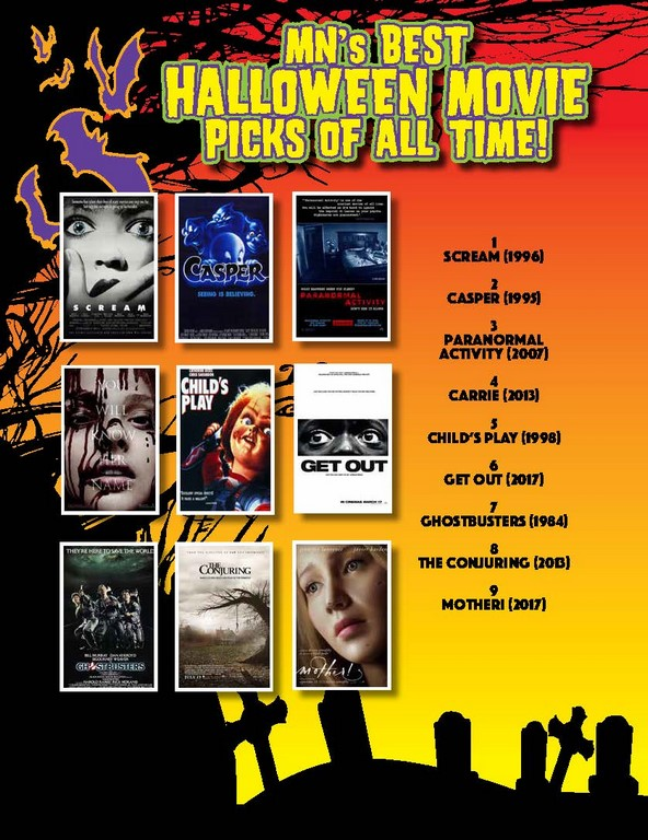 MN's Best HALLOWEEN MOVIE Picks Of All Time