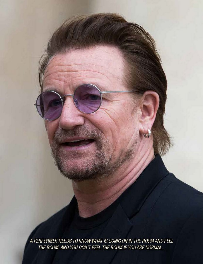 BONO Rock Legend and Irish Icon