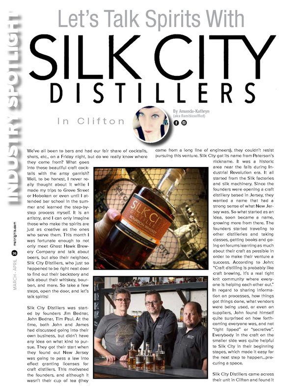 Let's Talk Spirits With SILK CITY Distillers