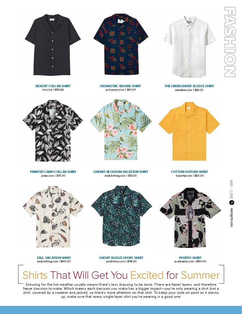 Shirts That Will Get You Excited for Summer