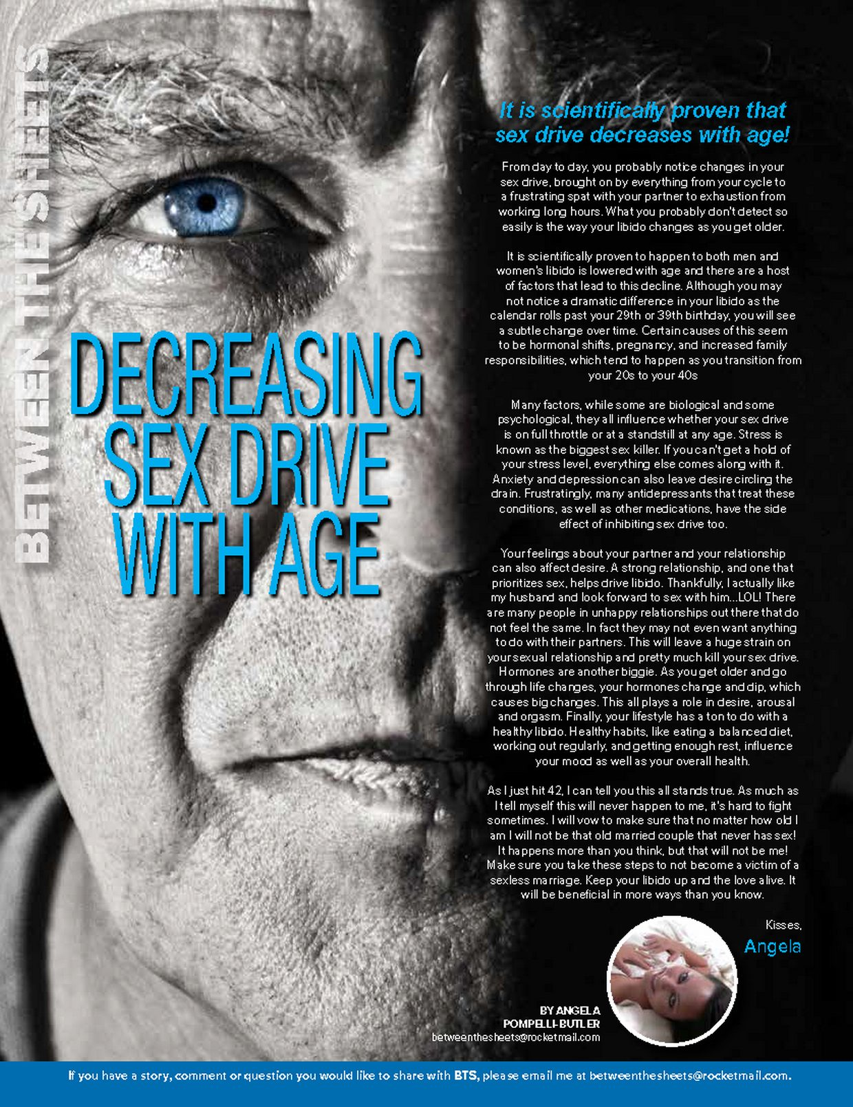 DECREASING SEX DRIVE WITH AGE