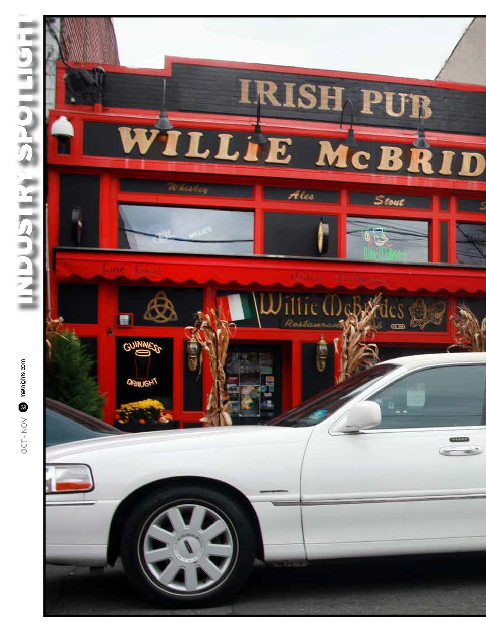 IRISH PUB WILLIE McBRIDE
