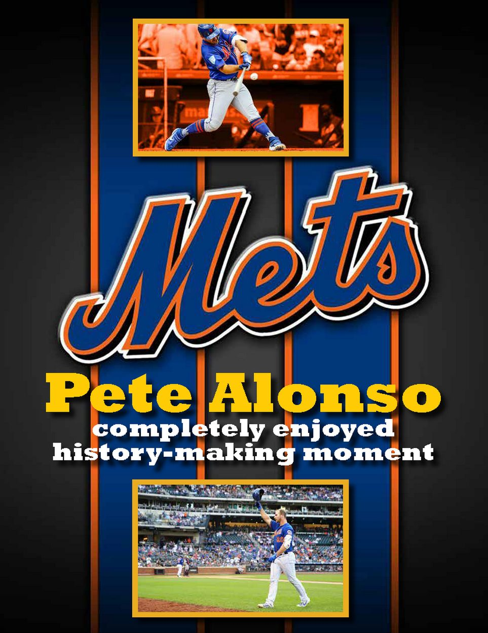 Pete Alonso completely enjoyed history-making moment