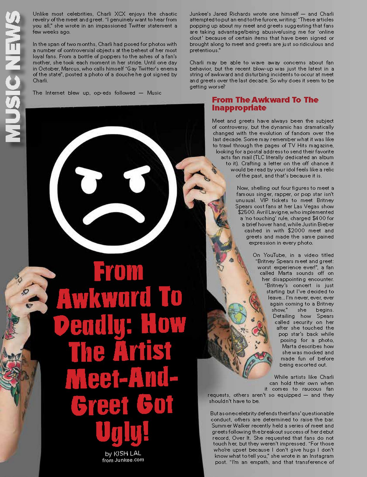 From Awkward To Deadly: How The Artist Meet-AndGreet Got Ugly!