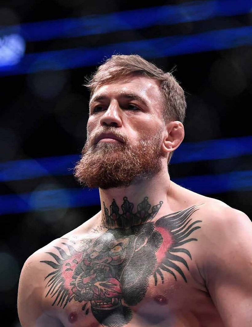 FIGHTING IRISH CONOR McGREGOR